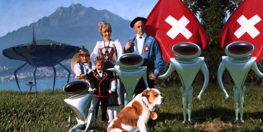 Ελβετοί οι Εξωγήινοι