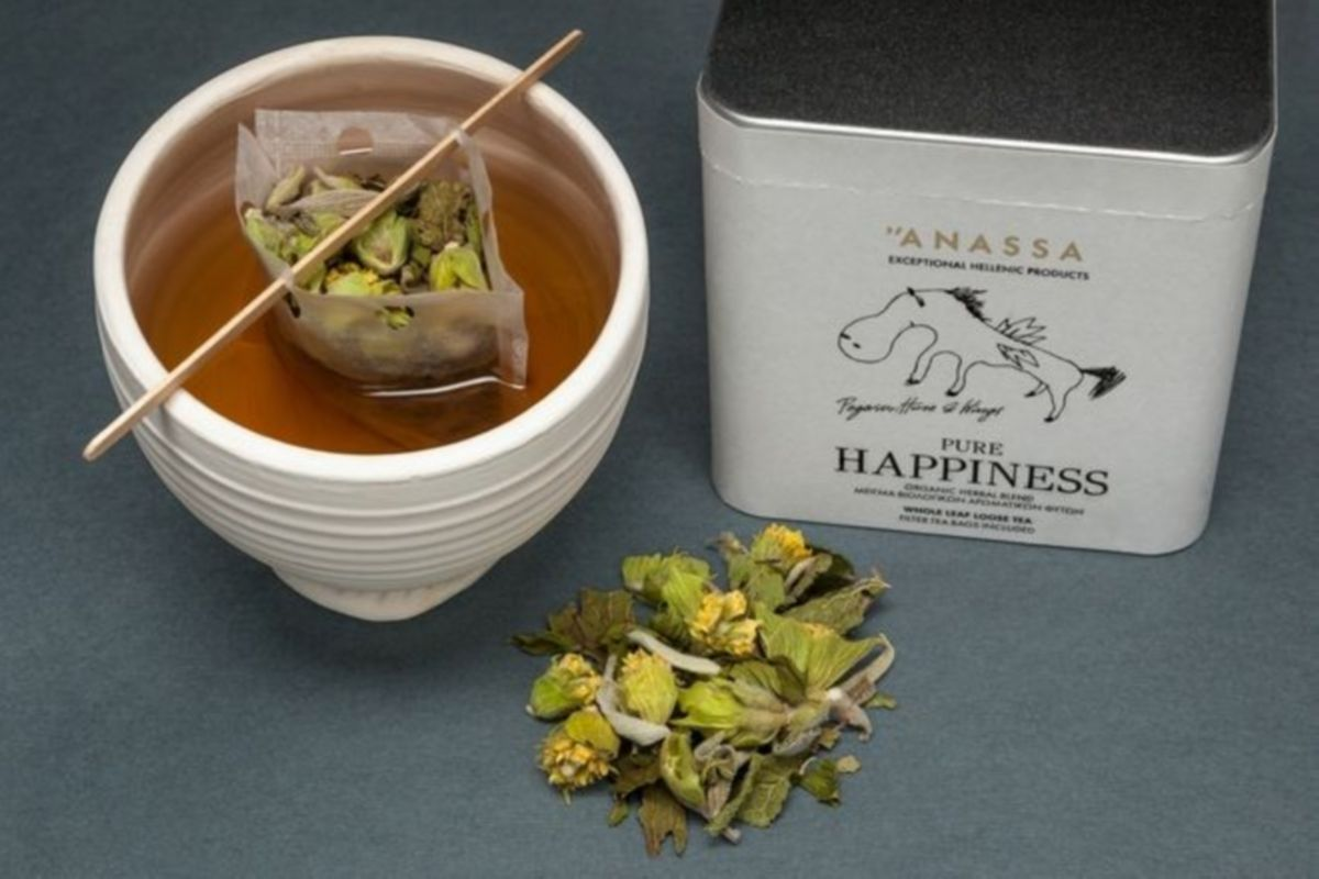 Anassa Organics το ελληνικό τσάι